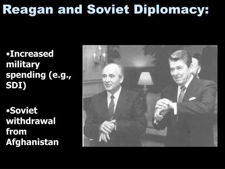 Reagan and Soviet Diplomacy: