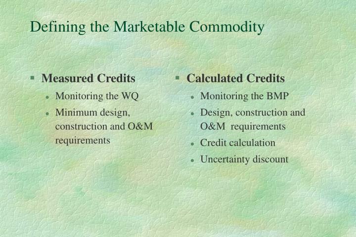 Measured Credits