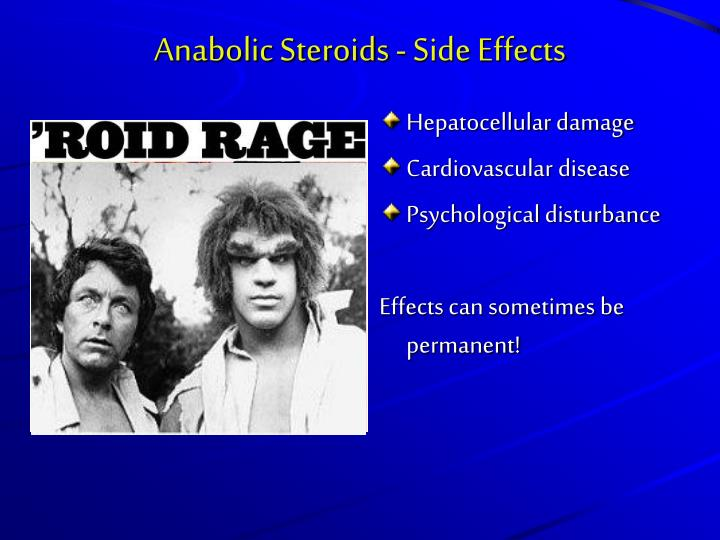 Anabolic Steroids - Side Effects