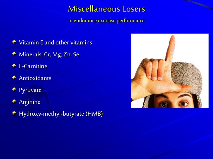 Miscellaneous Losers