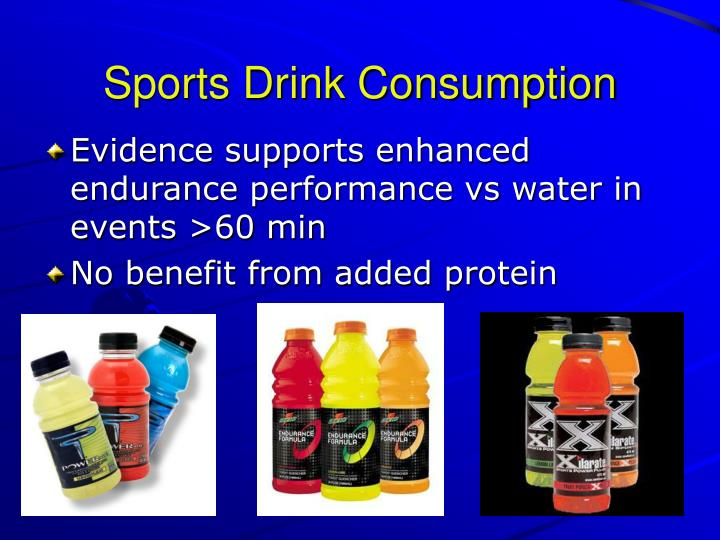 Sports Drink Consumption