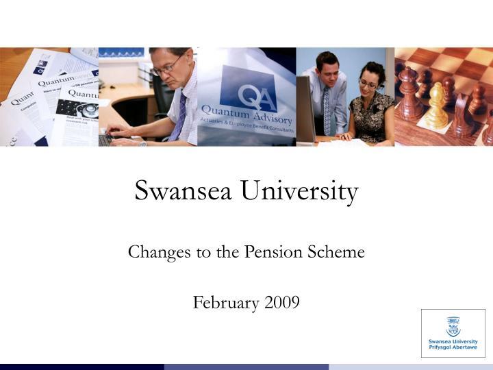 swansea university n.