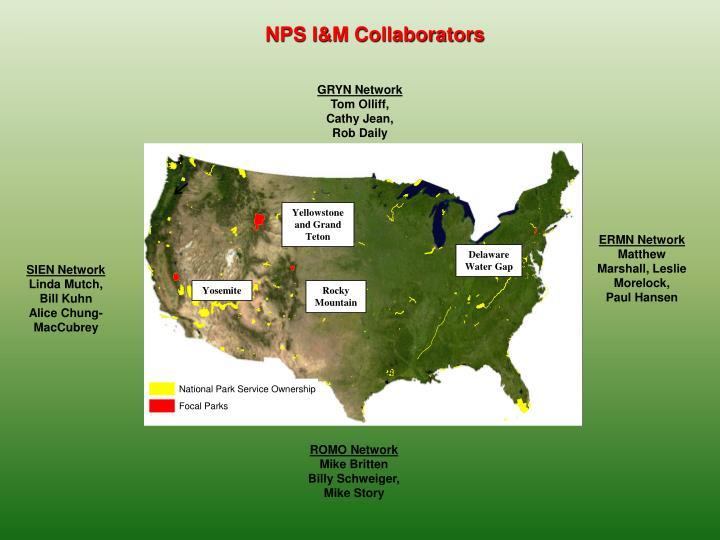 NPS I&M Collaborators