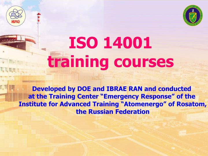 iso 14001 training courses n.
