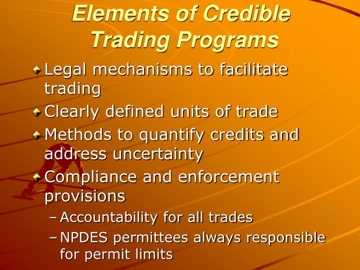 Elements of Credible