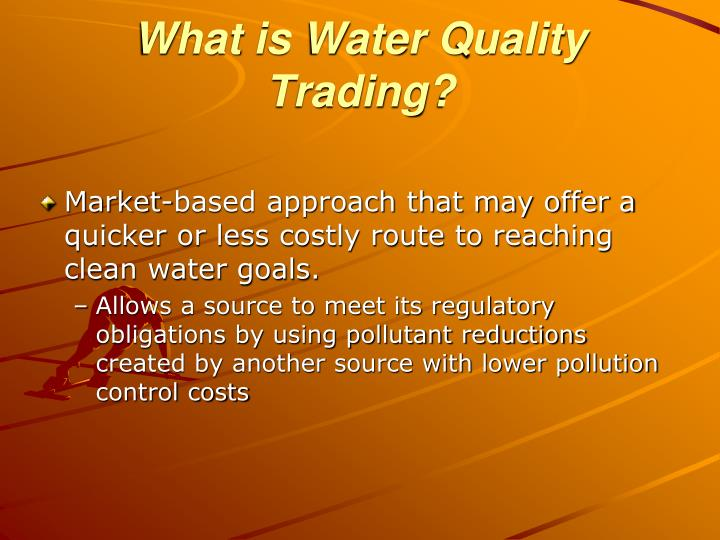 What is Water Quality Trading?