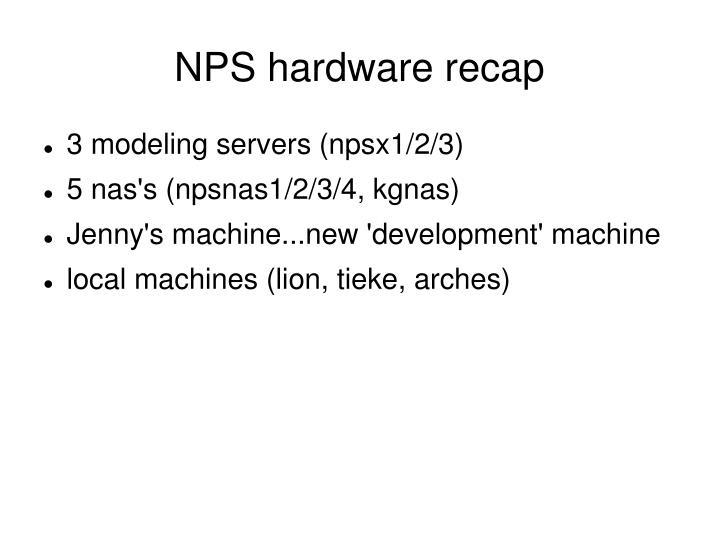 nps hardware recap n.