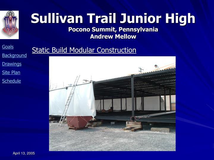 Static Build Modular Construction