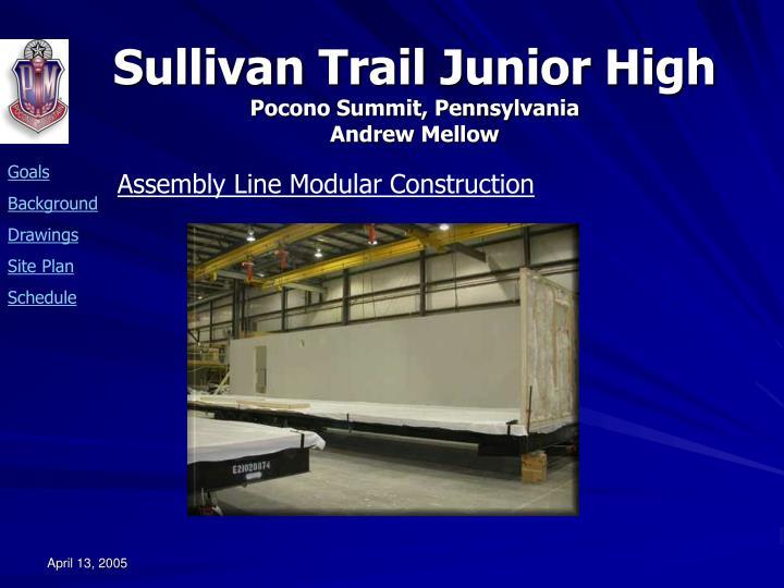Assembly Line Modular Construction