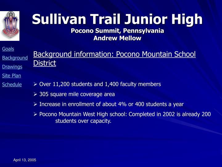 Background information: Pocono Mountain School District