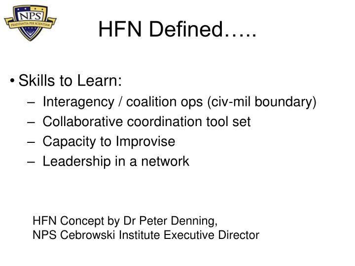 Hfn defined