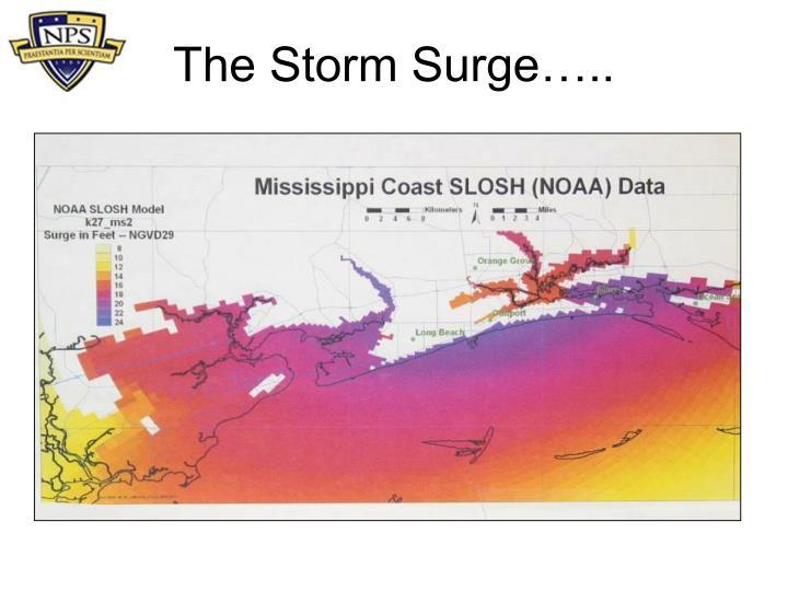 The Storm Surge…..