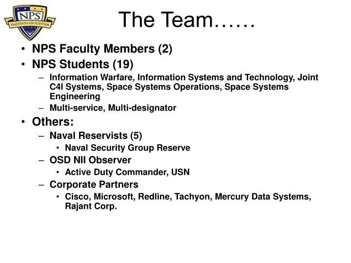 NPS Faculty Members (2)