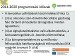 2014 2020 programoz si id szak