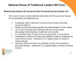 national house of traditional leaders bill cont2