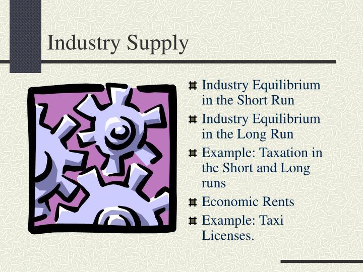 industry supply n.