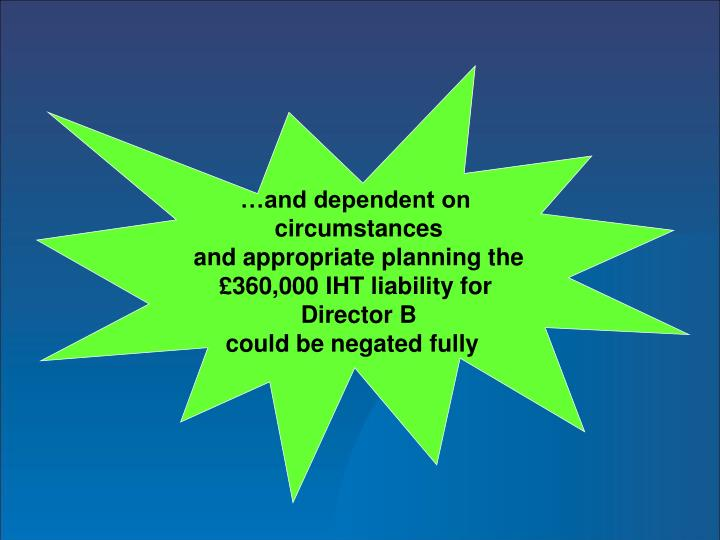 …and dependent on