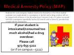 medical amnesty policy map