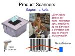 product scanners supermarkets