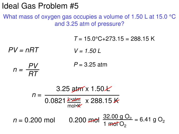 Ideal Gas Problem #5