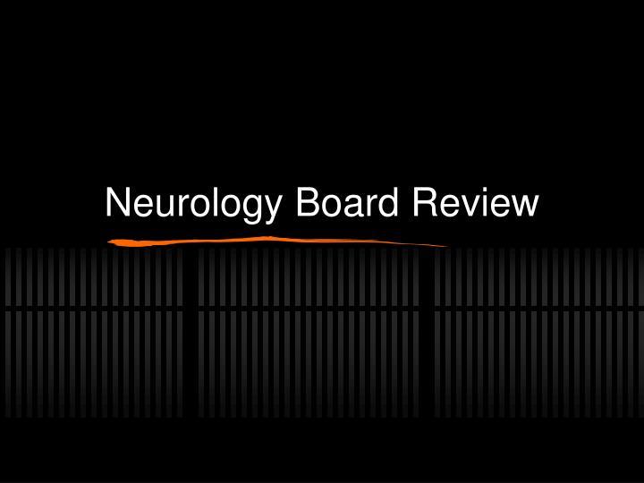 neurology board review n.