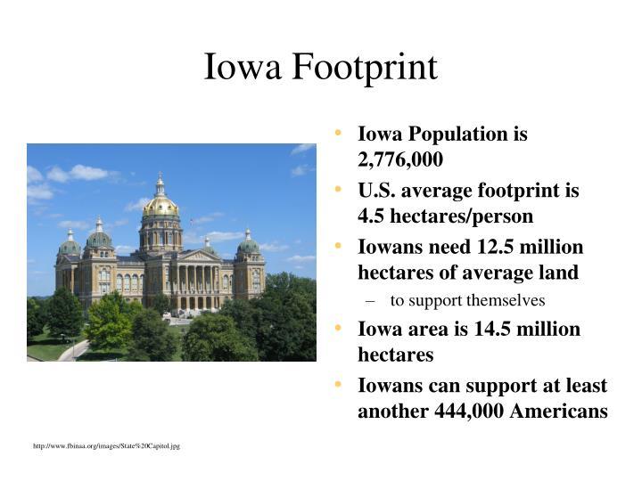 Iowa Footprint