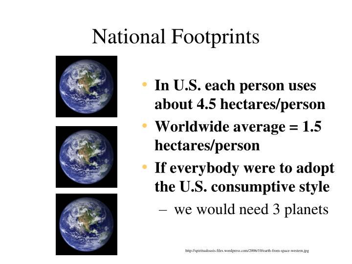 National Footprints