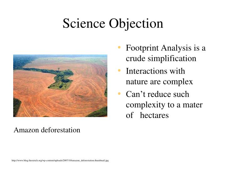 Science Objection