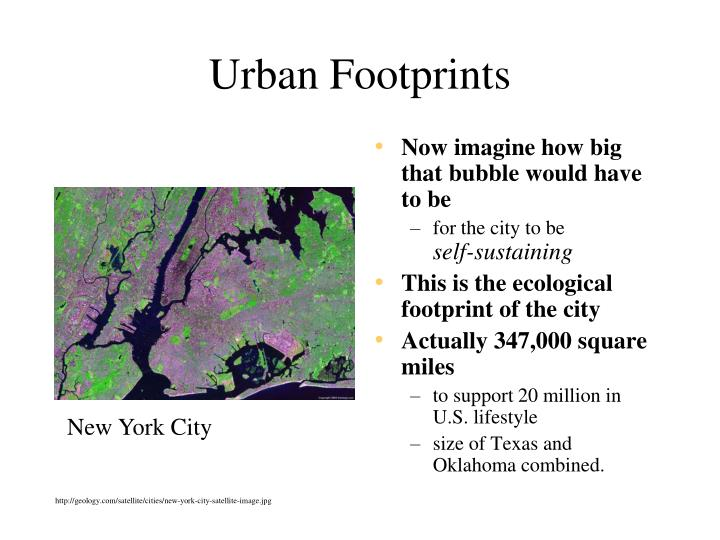 Urban Footprints