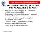 do wiadczenia odbudowy gospodarczej by ej nrd przyk adem dla polski