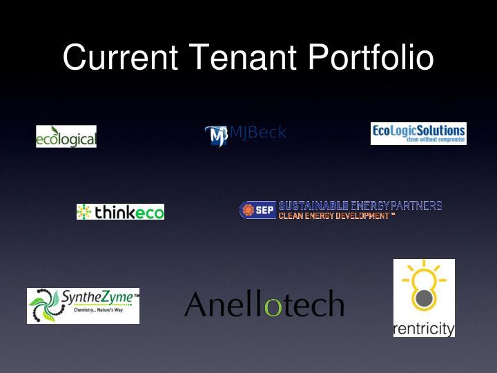 Current Tenant Portfolio