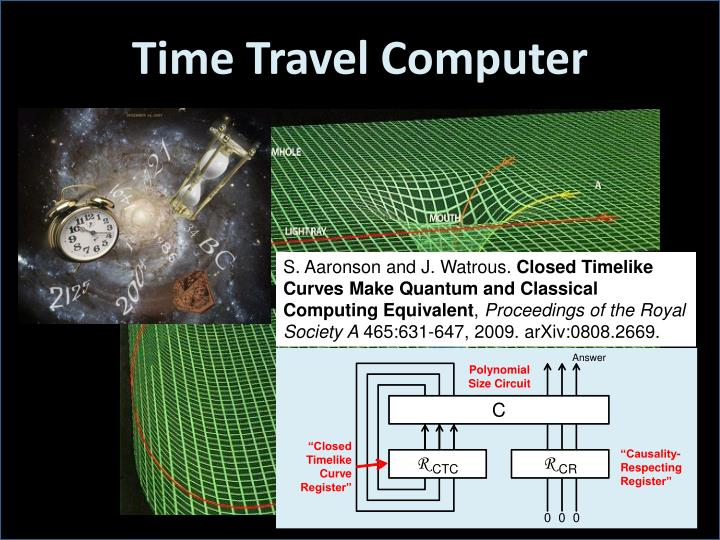 Time Travel Computer