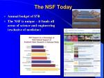 the nsf today
