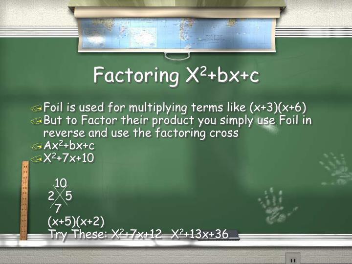 Factoring X