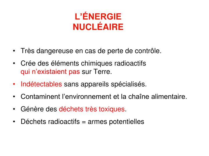 L nergie nucl aire
