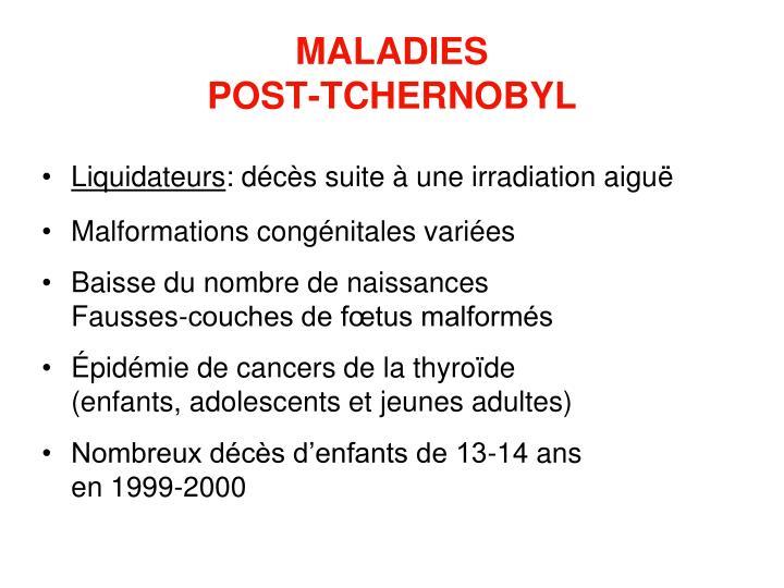 MALADIES