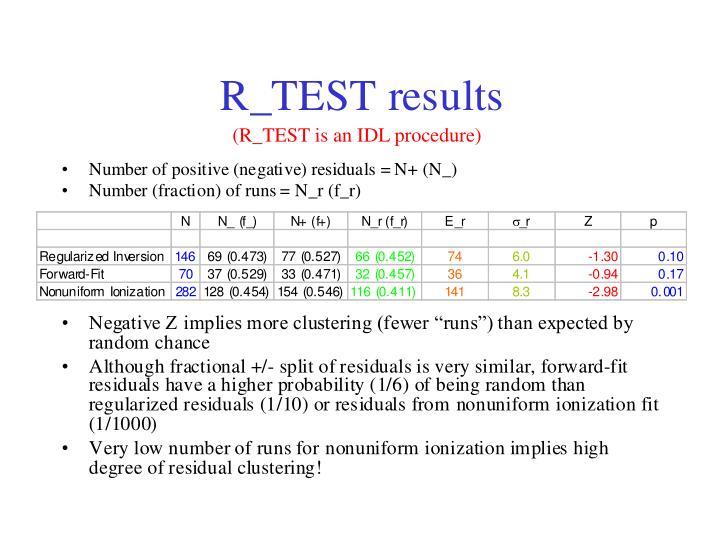 (R_TEST is an IDL procedure)
