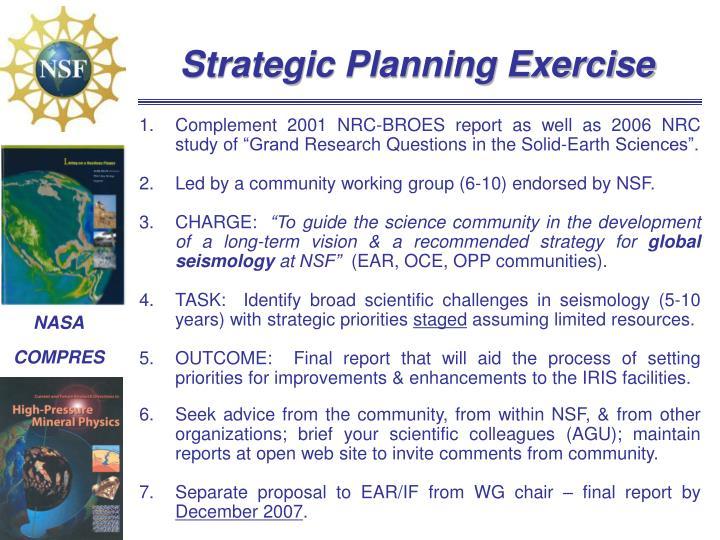 Strategic Planning Exercise