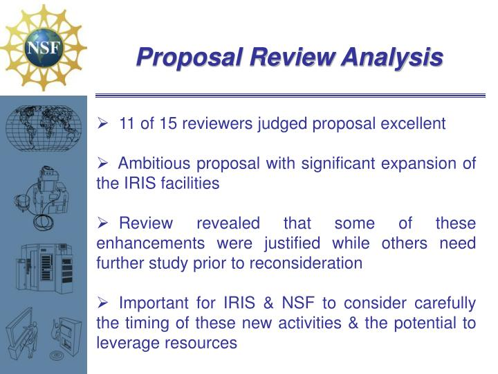 Proposal Review Analysis