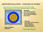 another solution cooling in candu