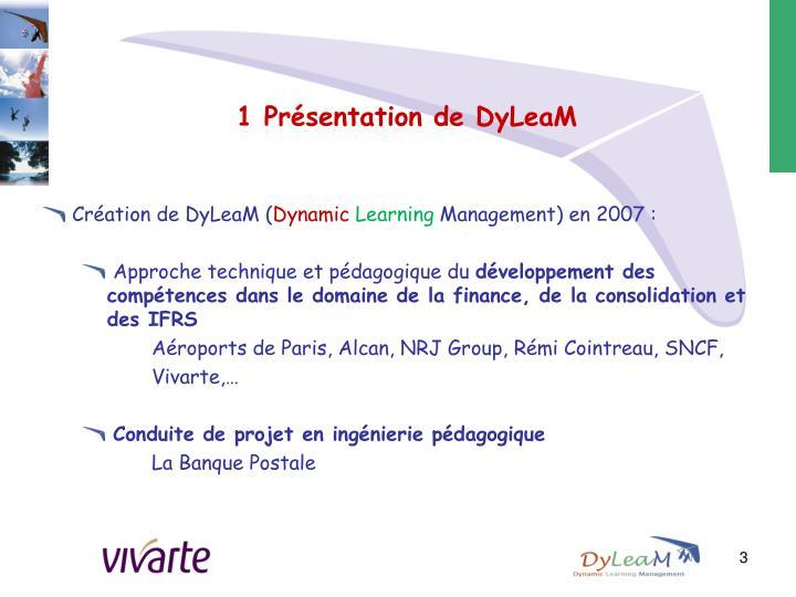 1 pr sentation de dyleam