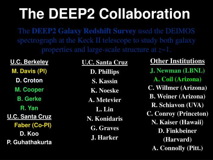 The deep2 collaboration