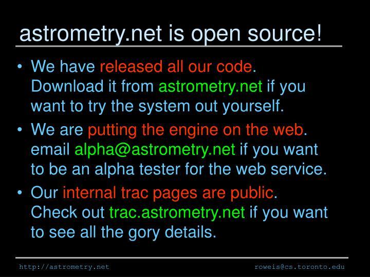 astrometry.net is open source!