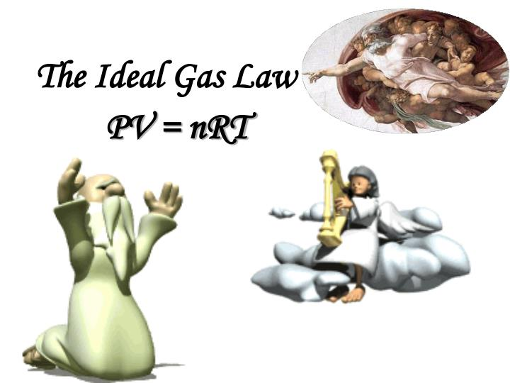 the ideal gas law n.