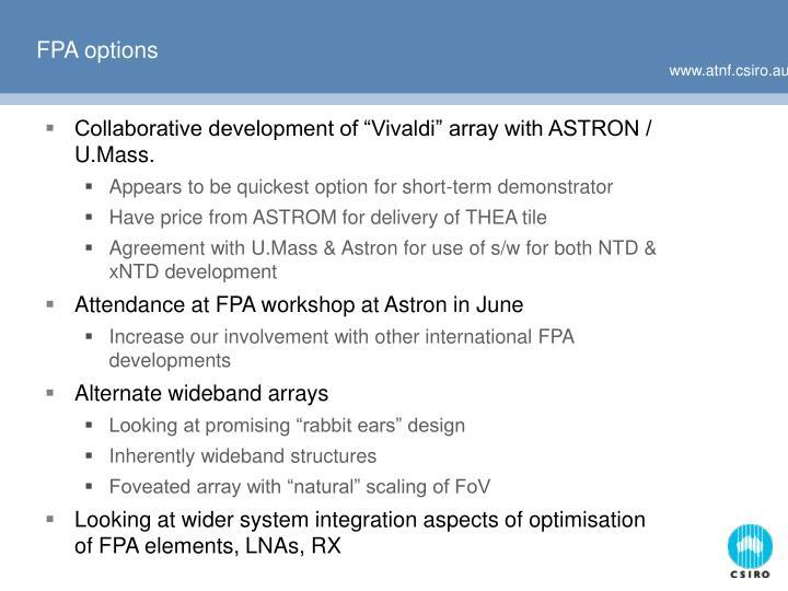 FPA options