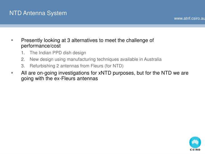 NTD Antenna System