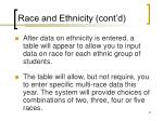 race and ethnicity cont d1