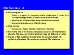 file systems 2