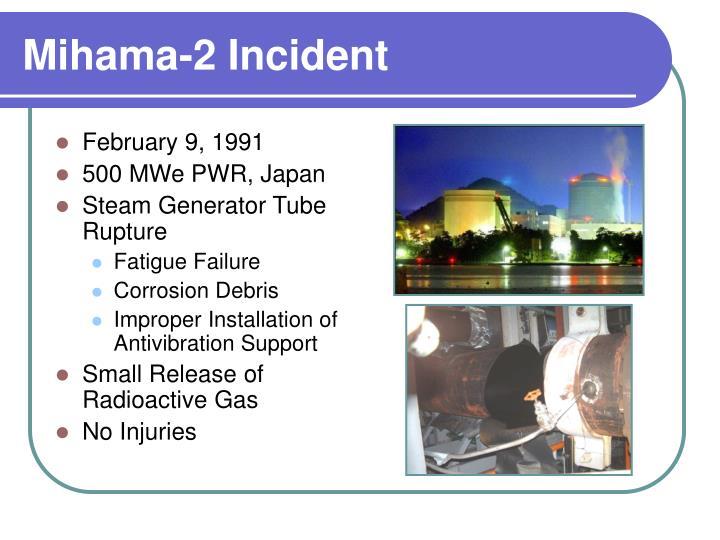 Mihama-2 Incident
