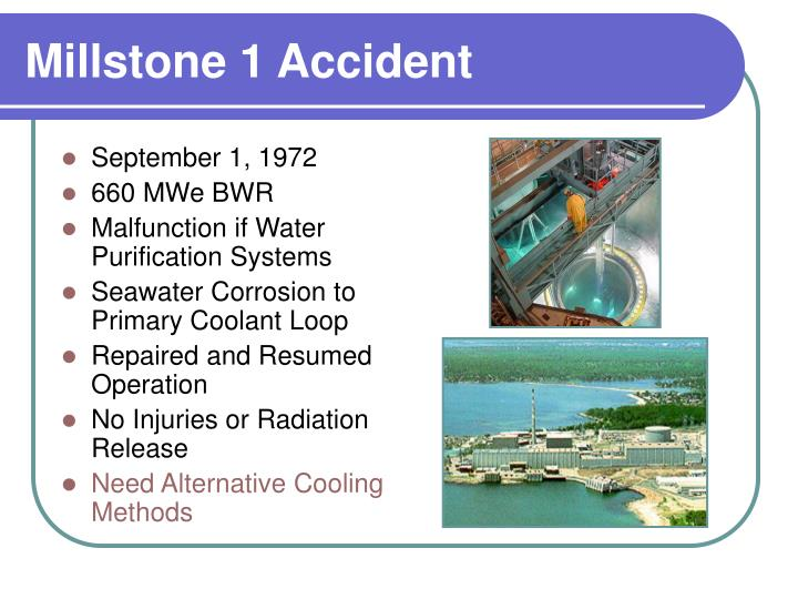Millstone 1 Accident